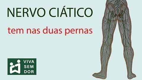 Nervo ciático tem nas duas pernas